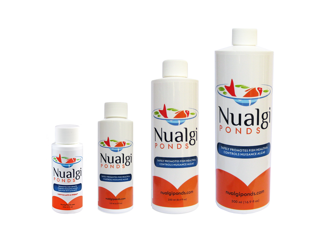 Buy nualgi ponds for healthy and crystal clear pond water for Ponds products