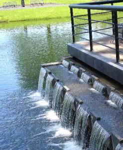 waterfall pond benefits