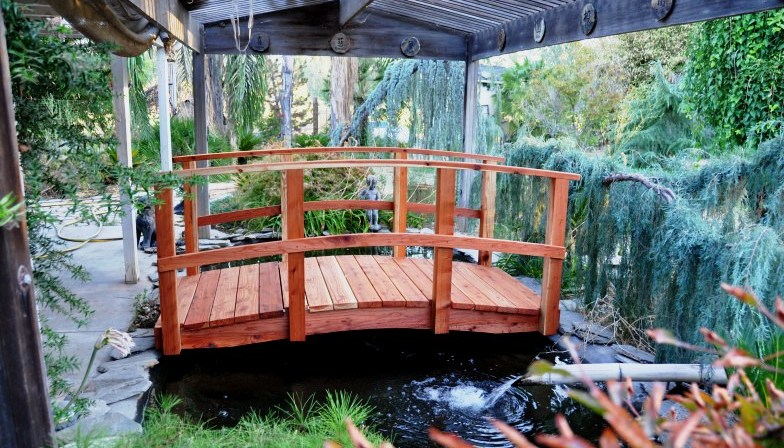Customer Profile: Joe Guraro – How to Choose a Garden Bridge