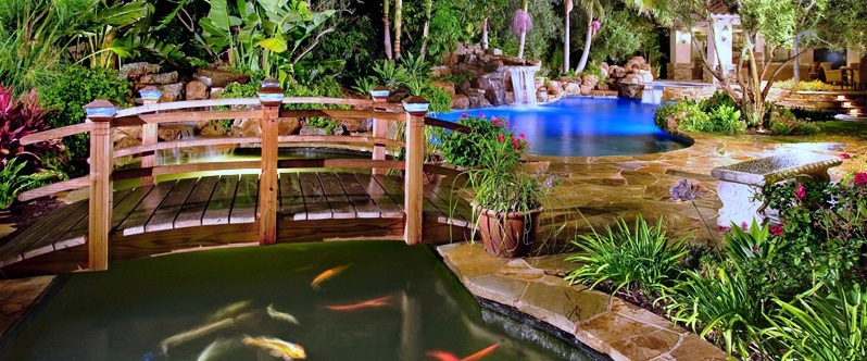 How to choose a garden bridge for Fish pond bridges
